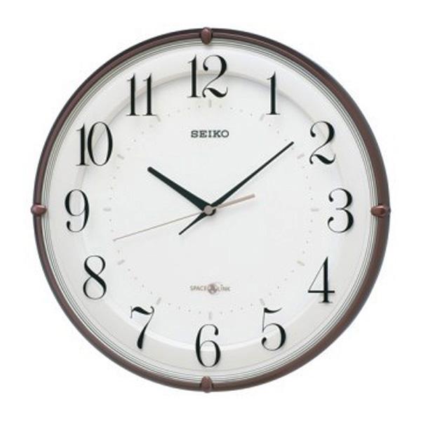 【正規品】セイコー SEIKO CLOCK クロック製セイコー SEIKO 衛星電波クロック 掛け時計 GP216B ホワイト