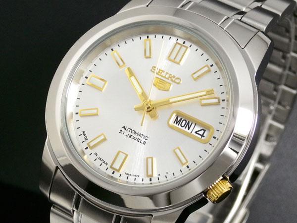 【日本製 逆輸入SEIKO5】セイコー SEIKO セイコー5 SEIKO 5 自動巻き 腕時計 SNKK09J1