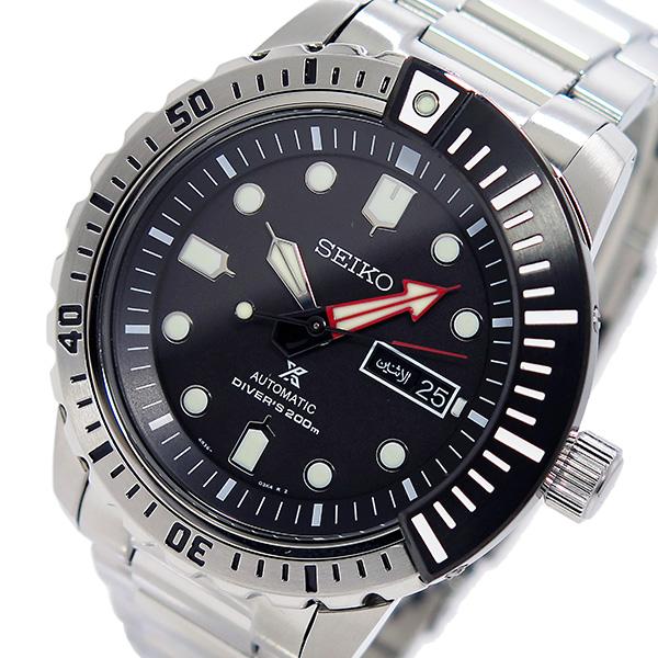 【逆輸入SEIKO】セイコー SEIKO プロスペックス PROSPEX メンズ 自動巻き 腕時計 SRP587K1 ブラック