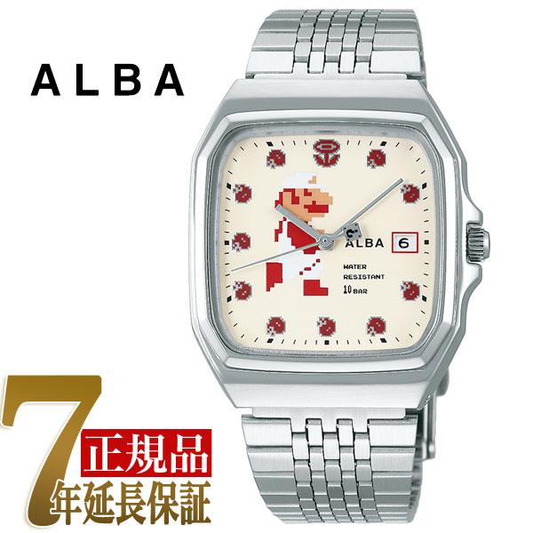 セイコー アルバ SEIKO ALBA クォーツ メンズ 腕時計 スーパーマリオコラボ ファミコンマリオシリーズ ファイアーマリオ ACCK421【あす楽】