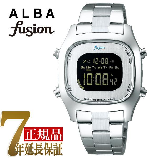 【正規品】セイコー アルバ フュージョン SEIKO ALBA fusion 80'fashion クォーツ ユニセックス 腕時計 AFSM402