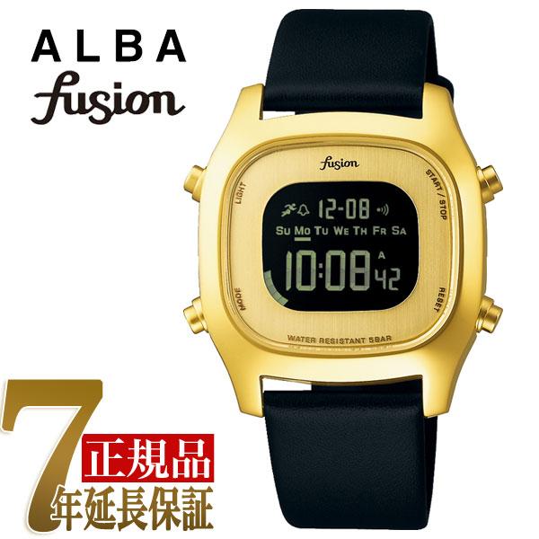 【正規品】セイコー アルバ フュージョン SEIKO ALBA fusion 80'fashion クォーツ ユニセックス 腕時計 AFSM403