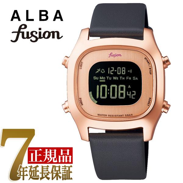 【正規品】セイコー アルバ フュージョン SEIKO ALBA fusion 80'fashion クォーツ ユニセックス 腕時計 AFSM404