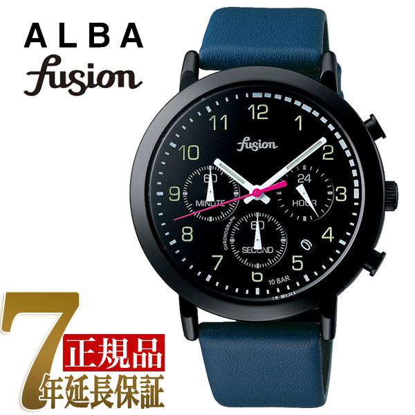 【正規品】セイコー アルバ フュージョン SEIKO ALBA fusion 70'fashion クォーツ ユニセックス 腕時計 AFST401