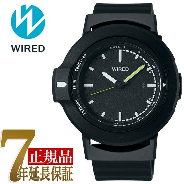 【正規品】セイコー SEIKO ワイアード ツーダブ WIRED WW TYPE01 ON スマートウオッチ Bluetooth メンズ 腕時計 AGAB401