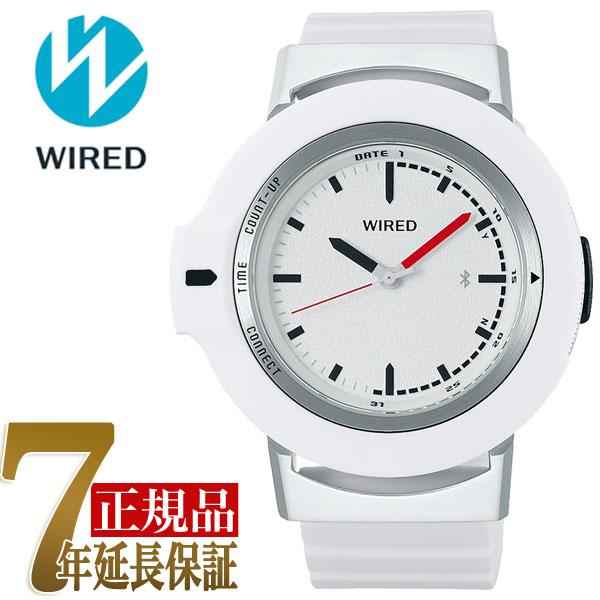 【正規品】セイコー SEIKO ワイアード ツーダブ WIRED WW TYPE01 ON スマートウオッチ Bluetooth メンズ 腕時計 AGAB402