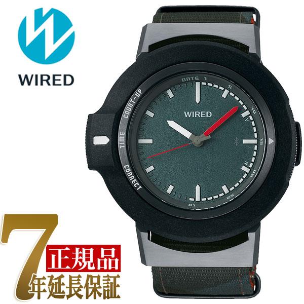 【正規品】セイコー SEIKO ワイアード ツーダブ WIRED WW TYPE01 ON スマートウオッチ Bluetooth メンズ 腕時計 AGAB405