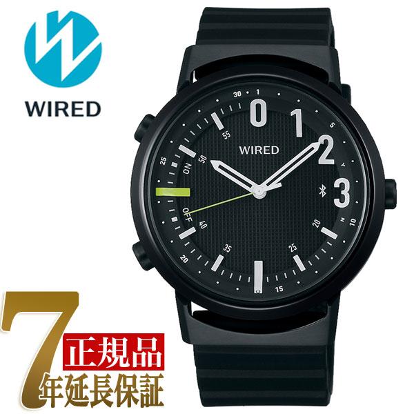 【正規品】セイコー SEIKO ワイアード ツーダブ WIRED WW TYPE02 NUMBER スマートウオッチ Bluetooth メンズ 腕時計 AGAB406