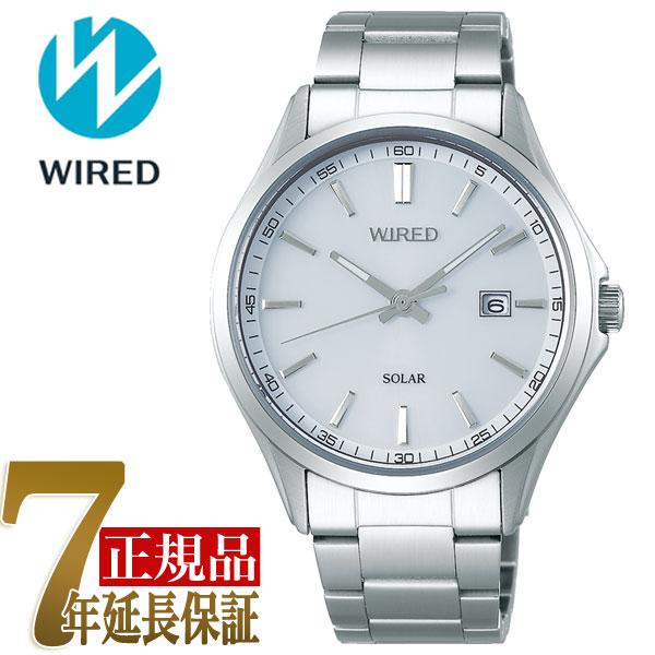 【正規品】セイコー ワイアード SEIKO WIRED ソーラー メンズ 腕時計 AGAD405