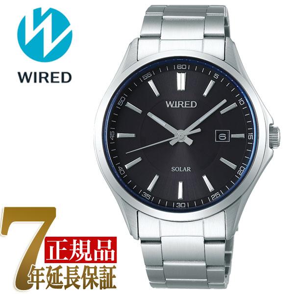 【正規品】セイコー ワイアード SEIKO WIRED ソーラー メンズ 腕時計 AGAD406