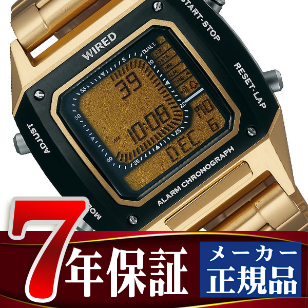 セイコー ワイアード SEIKO WIRED ソリディティ SOLIDITY デジタル クロノグラフモデル メンズ 腕時計 AGAM402 Featuring BEAMS モデル
