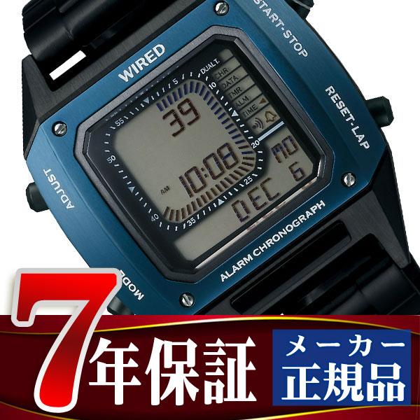 セイコー ワイアード SEIKO WIRED ソリディティ SOLIDITY デジタル クロノグラフモデル BASELWORLD 2017 LIMITED EDITION メンズ 腕時計 AGAM701 Featuring BEAMS モデル