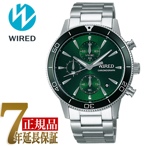 【正規品】セイコー ワイアード SEIKO WIRED TOKYO SORA クオーツ クロノグラフ メンズ 腕時計 AGAT430