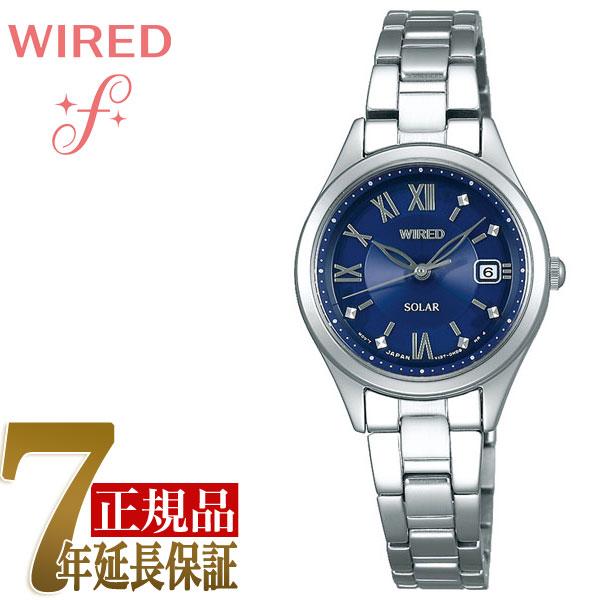 【SEIKO WIRED PAIR STYLE】セイコー ワイアード ペアスタイル ソーラー ペアモデル レディース 腕時計 AGED103