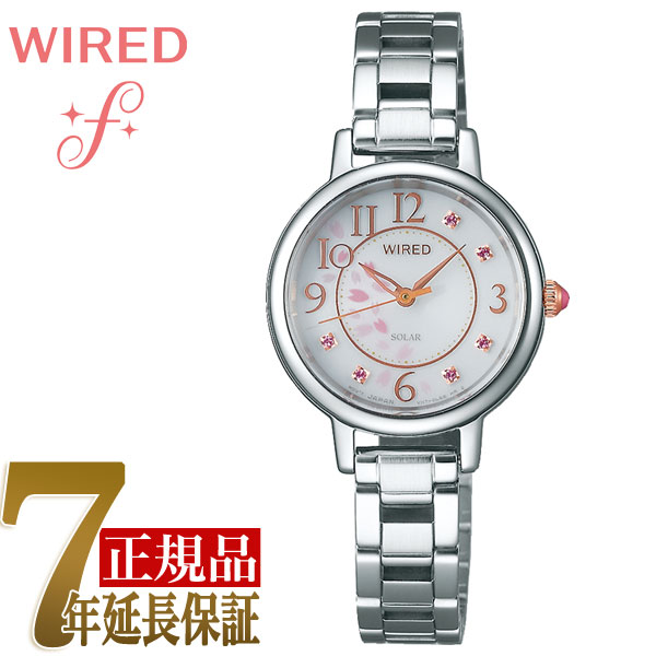 【SEIKO WIRED f】セイコー ワイアード エフ 2019 「桜」限定モデル ソーラー 腕時計 レディース AGED720
