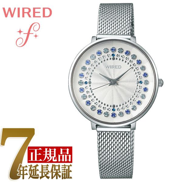 【正規品】セイコー SEIKO ワイアードエフ WIRED f TOKYO GIRL MIX スプリングサークル クオーツ レディース 腕時計 AGEK454