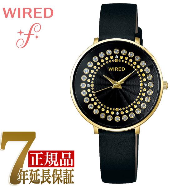 【正規品】セイコー SEIKO ワイアードエフ WIRED f TOKYO GIRL MIX スプリングサークル クオーツ レディース 腕時計 AGEK456