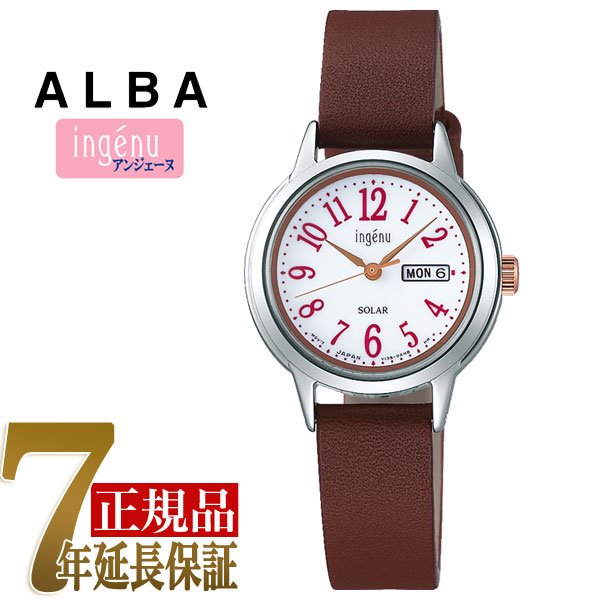【SEIKO ALBA】セイコー アルバ アンジェーヌ ingenu ソーラー 腕時計 レディース AHJD110