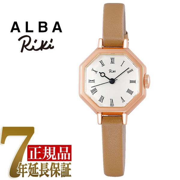 【正規品】セイコー アルバ リキ SEIKO ALBA Riki 八角形 クラシック クオーツ レディース 腕時計 AKQK457