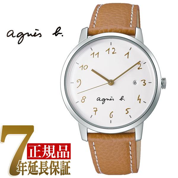 【agnes b.】アニエスベー マルチェロ Marcello クオーツ メンズ 腕時計 ペアモデル FCRK989