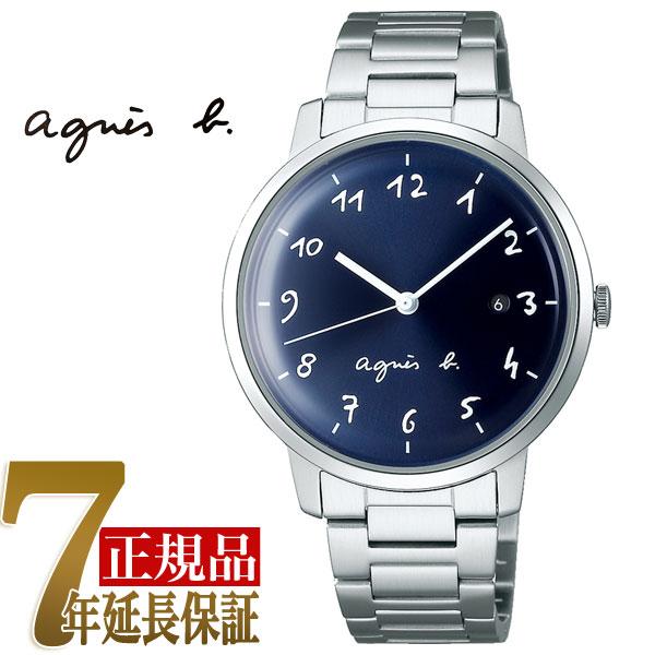 【agnes b.】アニエスベー マルチェロ Marcello クオーツ メンズ 腕時計 ペアモデル FCRK990