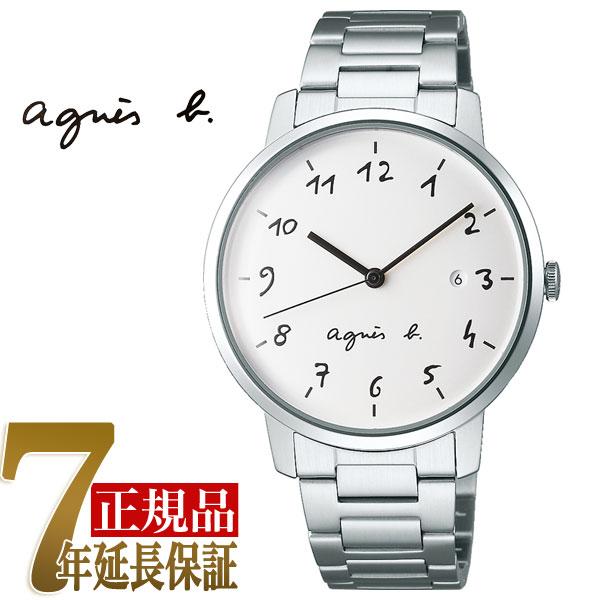 【agnes b.】アニエスベー マルチェロ Marcello クオーツ メンズ 腕時計 ペアモデル FCRK991