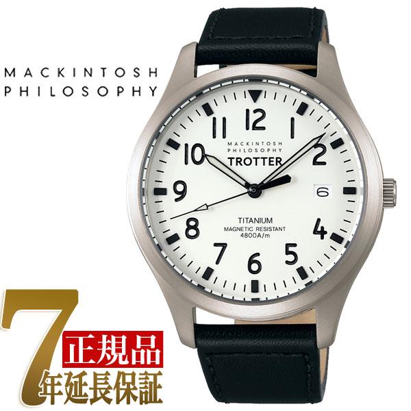 【正規品】マッキントッシュ フィロソフィー MACKINTOSH PHILOSOPHY TROTTER クオーツ メンズ チタン 腕時計 FCZK987