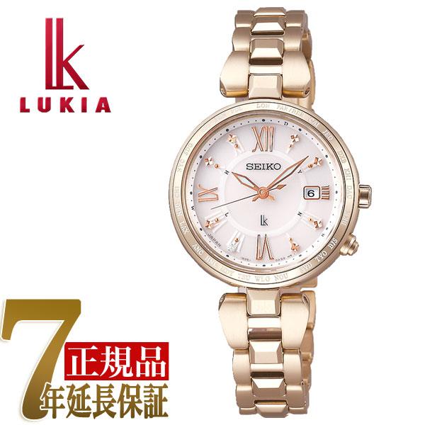 【母の日ギフト】【正規品】セイコー ルキア SEIKO LUKIA レディダイヤ Lady Diamond レディゴールド Lady Gold ソーラー 電波 腕時計 レディース 綾瀬はるか SSQV058