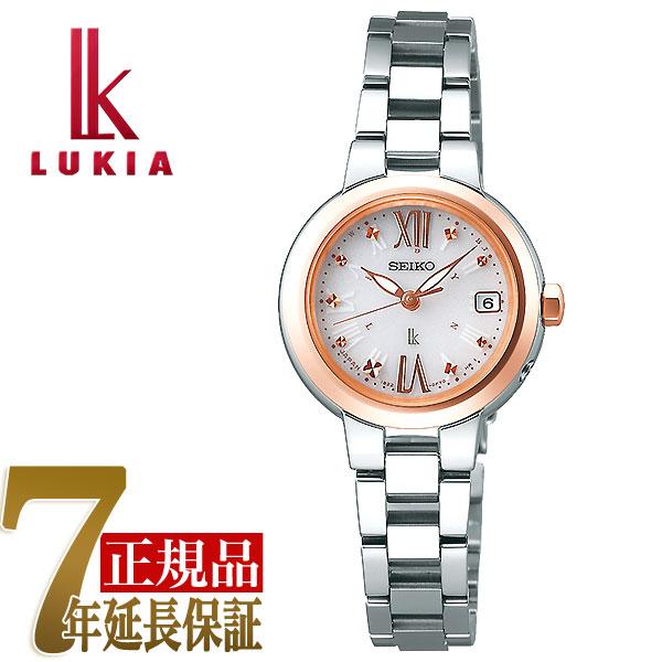 【SEIKO LUKIA】セイコー ルキア 電波 ソーラー 電波時計 薄型 レディース 腕時計 SSVW138