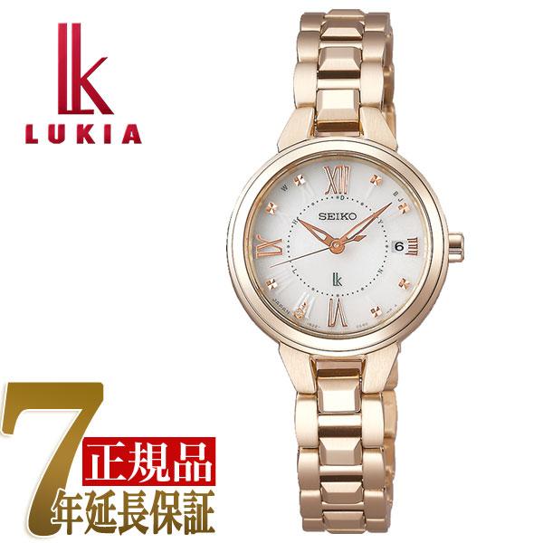 【SEIKO LUKIA】セイコー ルキア レディダイヤ Lady Diamond レディゴールド Lady Gold ソーラー 電波 腕時計 レディース 綾瀬はるか SSVW148