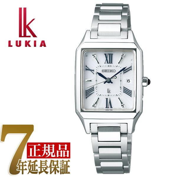【母の日ギフト】【正規品】セイコー ルキア SEIKO LUKIA スクエア ソーラー 電波 レディース 腕時計 綾瀬はるか SSVW159