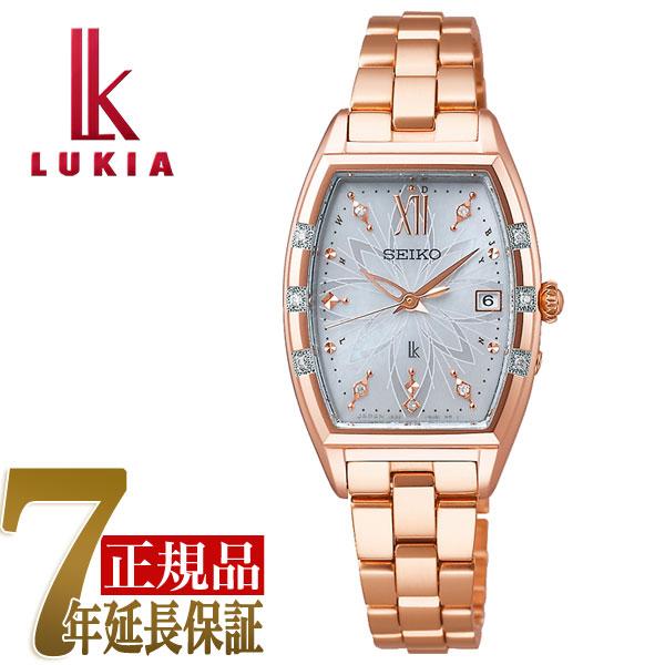 【母の日ギフト】【正規品】セイコー ルキア SEIKO LUKIA ニコライ・バーグマン 限定モデル LUKIA25周年記念モデル ソーラー 電波 レディース 腕時計 綾瀬はるか SSVW164