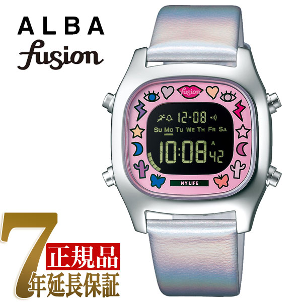 セイコー アルバ SEIKO ALBA フュージョン fusion クリエイターズコラボ クォーツ ユニセックス 腕時計 AFSM702