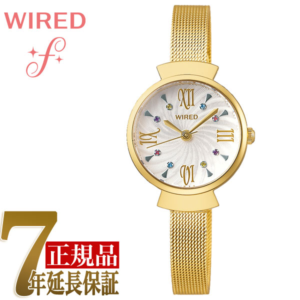 美しい 【正規品】セイコー ワイアード エフ SEIKO WIRED f キャンディケース クオーツ レディース 腕時計 ホワイト AGEK459, エムズオートカンサイ c9a1594d