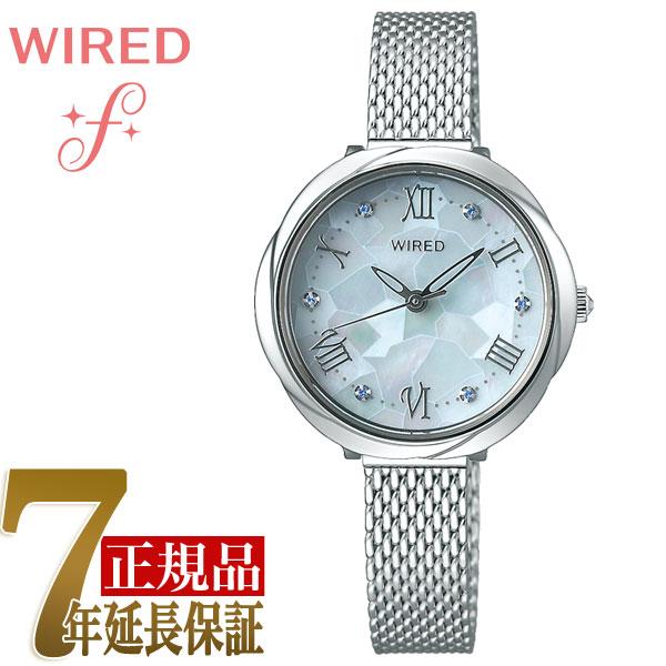 セイコー SEIKO ワイアードエフ WIRED f 花 クォーツ レディース 腕時計 AGEK460