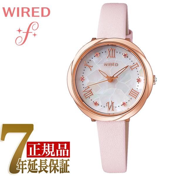 セイコー SEIKO ワイアードエフ WIRED f 花 クォーツ レディース 腕時計 AGEK462