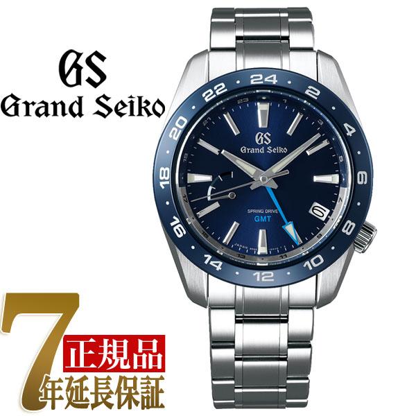 【おまけ付き】グランドセイコー GRAND SEIKO Sport Active Sport Collection スプリングドライブ GMT セラミックベゼル スプリングドライブ 自動巻き 手巻き付き ユニセックス 腕時計 SBGE255