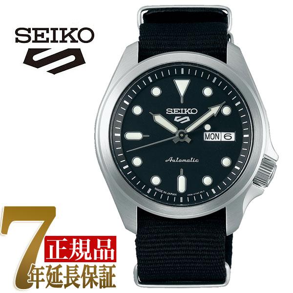 セイコー5スポーツ スポーツスタイル SEIKO 5 Solid Boy Sports Style 自動巻き 手巻き付き メカニカル 機械式 腕時計 流通限定モデル SBSA057