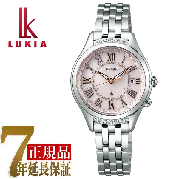 【正規品】セイコー ルキア SEIKO LUKIA Lady Diamond レディダイヤ ソーラー 電波 レディース 腕時計 綾瀬はるか モカピンク SSVV053