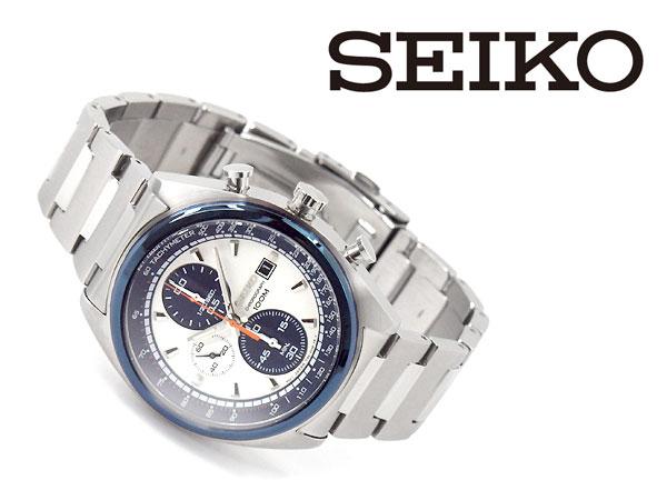 Seiko quartz mens Chronograph Watch SNDF87P1