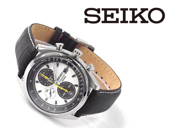 Seiko quartz mens Chronograph Watch SNDF93P1
