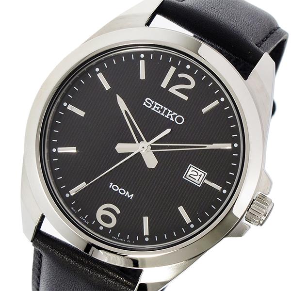 セイコー SEIKO クオーツ メンズ 腕時計 SUR215P1 ブラック