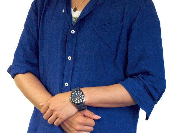【逆輸入SEIKO 5 SPORTS】セイコー5 スポーツ 自動巻き 手巻き付き機械式 メンズ 腕時計 ネイビー ウレタンベルト SRP605K2【あす楽】