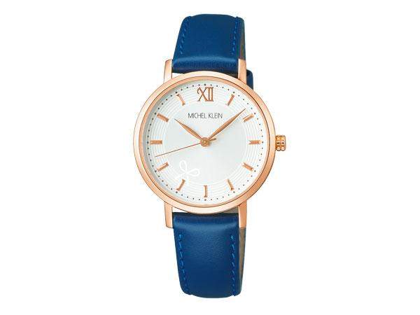 【MICHEL KLEIN】ミッシェルクラン SEIKO セイコー クオーツ 腕時計 レディース セイコー ライセンスモデル ホワイト AJCK095