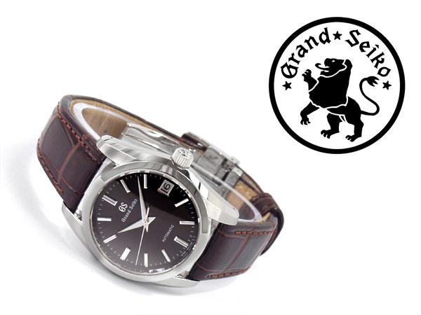brand new 65ad7 f6213 Men's watch Dai Brown Al brown leather belt SBGR289 with the grand SEIKO  mechanical rolling by hand