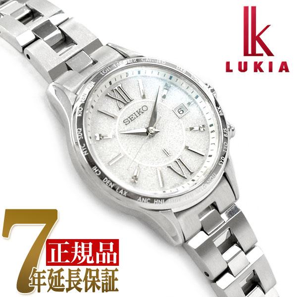 【母の日ギフト】【正規品】セイコー ルキア SEIKO LUKIA ペアモデル ソーラー 電波 腕時計 レディースモデル 綾瀬はるか SSVV035