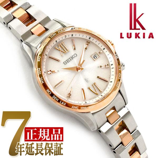 【母の日ギフト】【正規品】セイコー ルキア SEIKO LUKIA ペアモデル ソーラー 電波 腕時計 レディースモデル 綾瀬はるか SSVV036