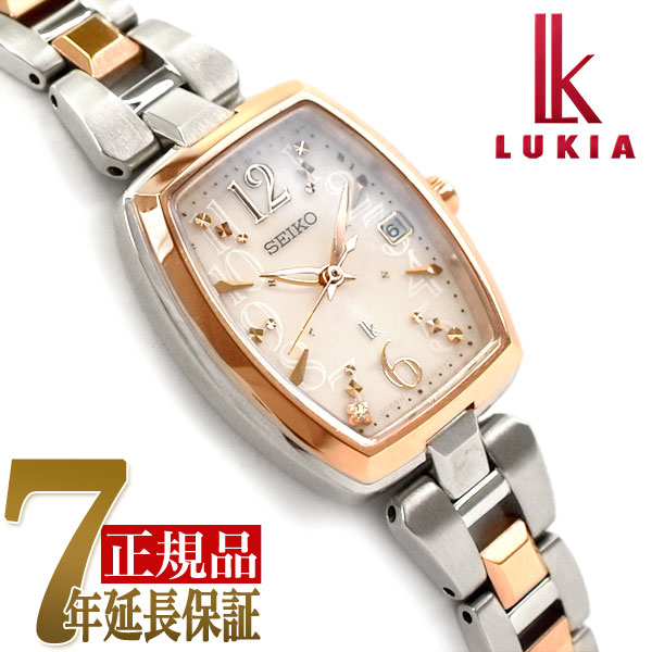 【母の日ギフト】【正規品】セイコー ルキア SEIKO LUKIA レディダイヤ Lady Diamond ソーラー 電波 腕時計 レディース 綾瀬はるか SSVW126