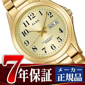 Seiko Alba standard screw-lock mens Watch Gold AIGT006