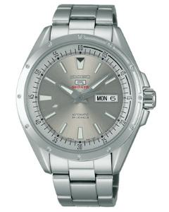 Seiko mechanical Seiko 5 sports mens watch automatic rolls hand rolls silver SARZ003